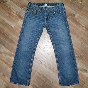 True Religion Ricky Super T Medium Wash Size 38